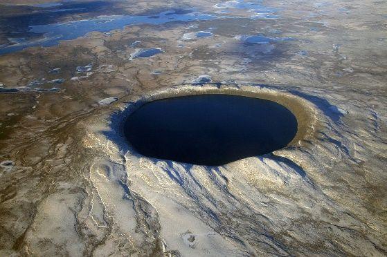 Krater Pinggualuit w Kanadzie