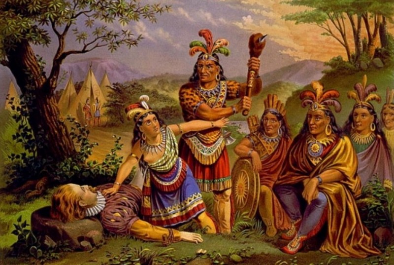 Pocahontas i John Smith