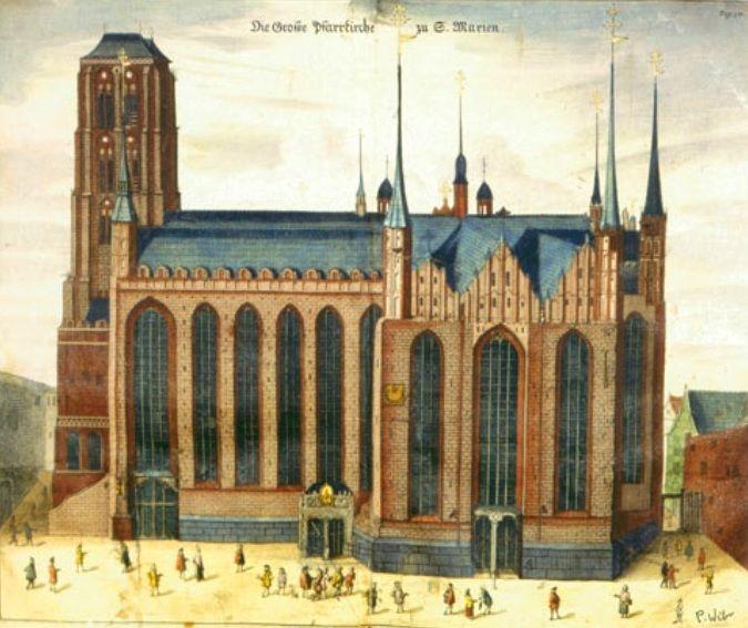 Kościół NMP, 1687 r., Peter Willer