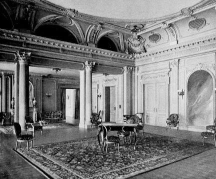 pokój, w którym obradował senat