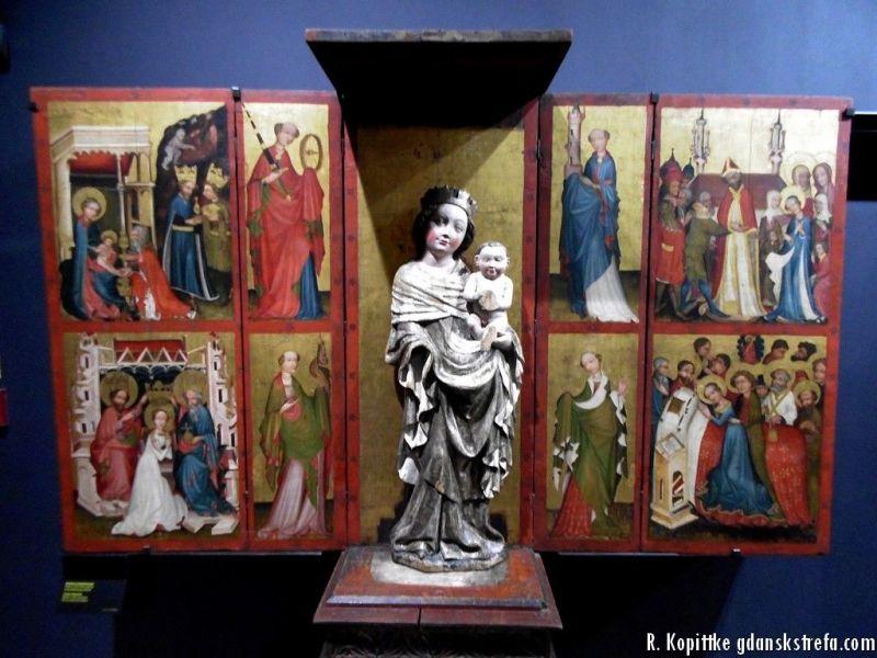 Ołtarz z kaplicy św. Kosmy i Damiana obecnie