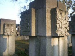 cmentarz na Zaspie; z archiwum autorki