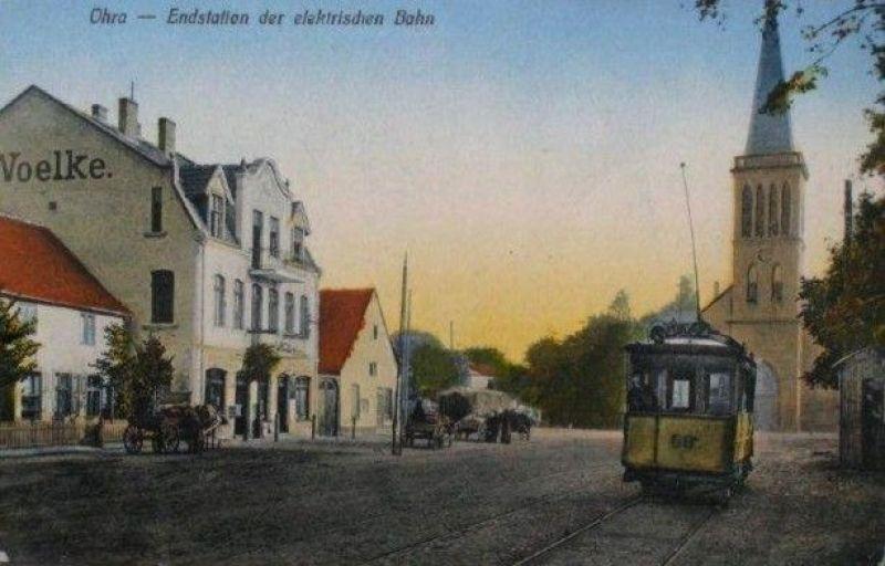 tramwaje na Oruni