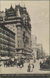 Waldorf=Astoria w 1905