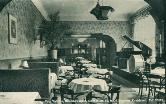 ulica Oliwska 51, Cafe Victoria, 1941