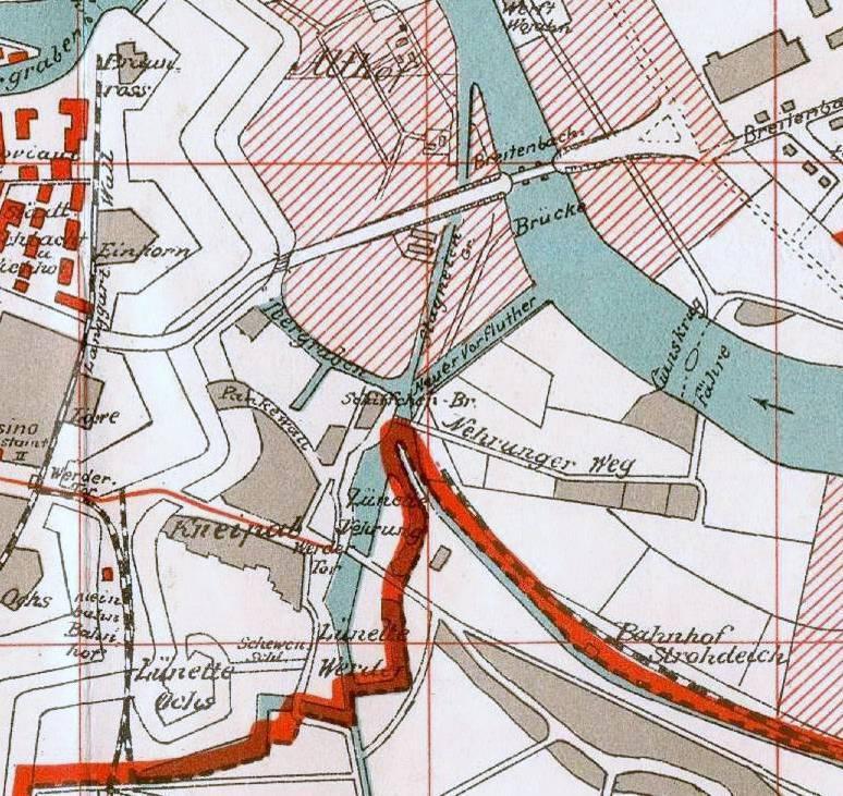 Fragment planu z 1912 r