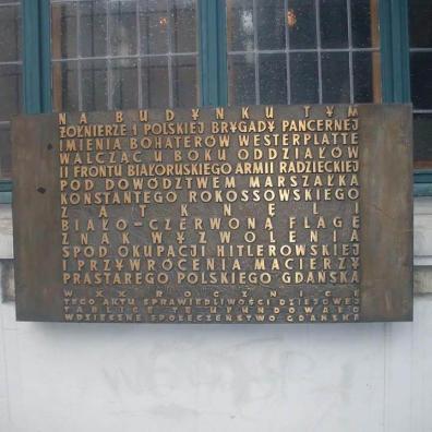 Tablica na Dworze Artusa
