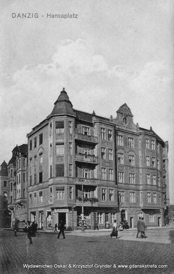 Plac Hanzy 1915 rok