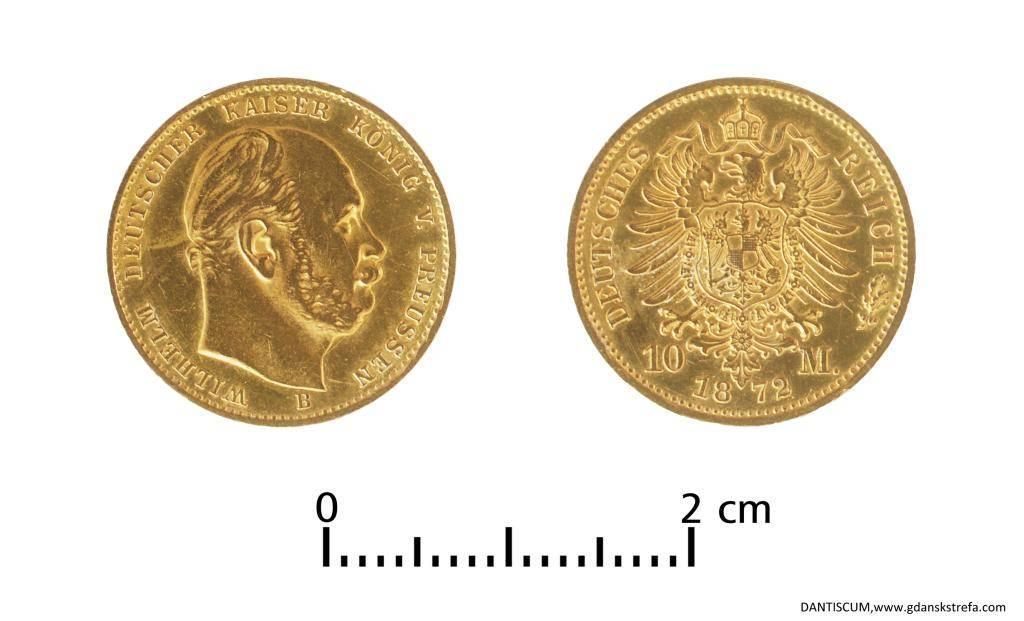Złota moneta - 10 marek