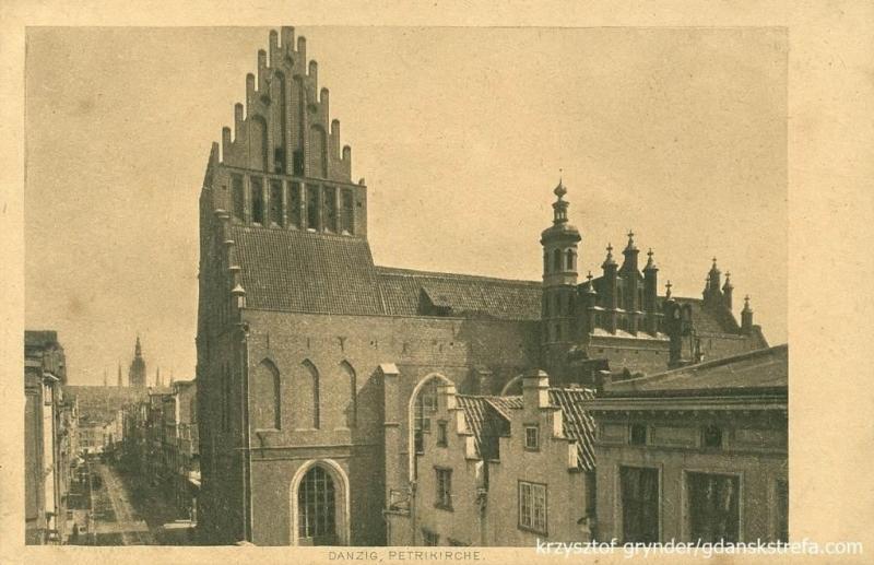 Kościół św. Piotra i Pawła na Starym Przedmieściu w XIX wieku