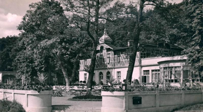 Hotel Adler w ówczesnym Sopocie (Gdynia Orłowo)