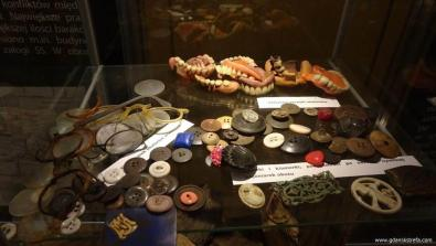 przedmioty więźniów