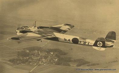 Niemiecki bombowiec Dornier 17