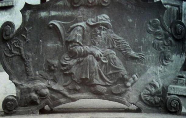 Zima, płyta oryginalna, [za]: M. Kaleciński, Mity Gdańska – antyk w publicznej sztuce protestanckiej res publiki, Gdańsk 2011, s. 270
