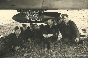 Brzeg. Lotnisko.Bomba dla Warszawy. 10.09.1939