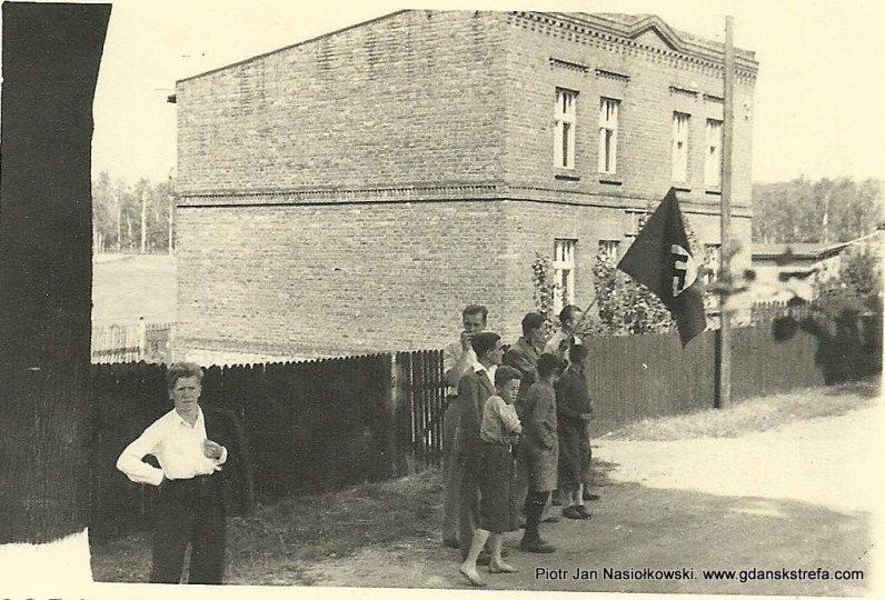 Powitanie Wehrmachtu w Pińczowie