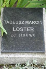Miejsce spoczynku porucznika Tadeusza Lostera