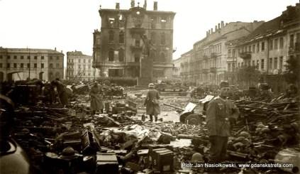 We wrześniu 1939 roku miejsce składania broni przez kapitulujących obrońców Warszawy.