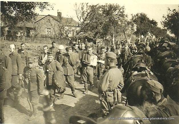 Polscy żołnierze jako jeńcy