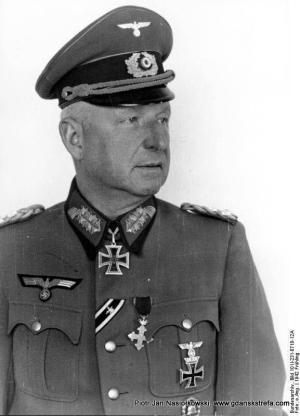 Feldmarschall Erich von Lewinski gennant Manstein