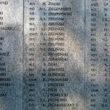 tablica z nazwiskami