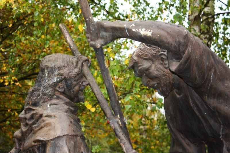 rzeźba Robin Hooda