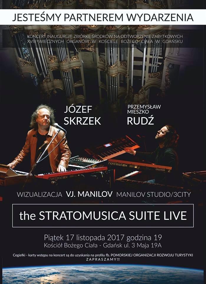 Józef Skrzek i Przemysław Rudź - The Stratomusica Suite Live