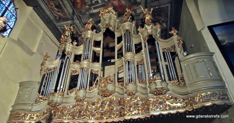 Zabytkowe Organy w kościele pw. Bożego Ciała