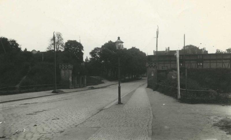 Brama Peterszawska w 1927 roku
