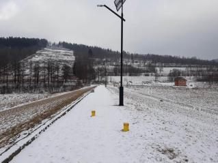 Zniszczenie przyrody, w tym krajobrazu - zbiornik zaporowy Stronie Śląskie