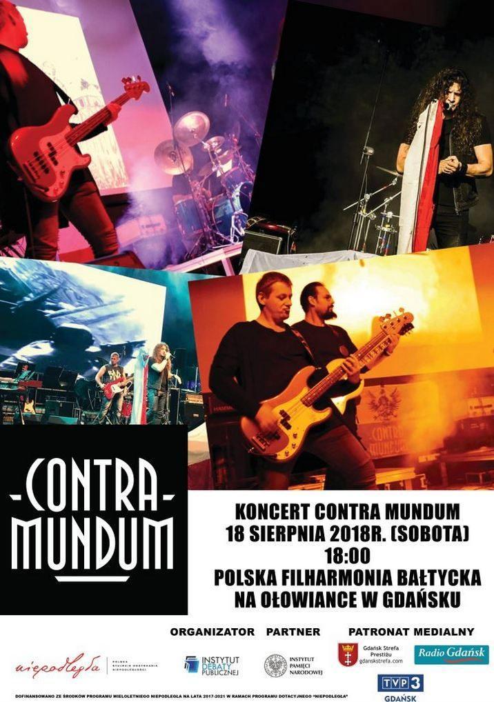 koncert zespołu rockowego CONTRA MUNDUM