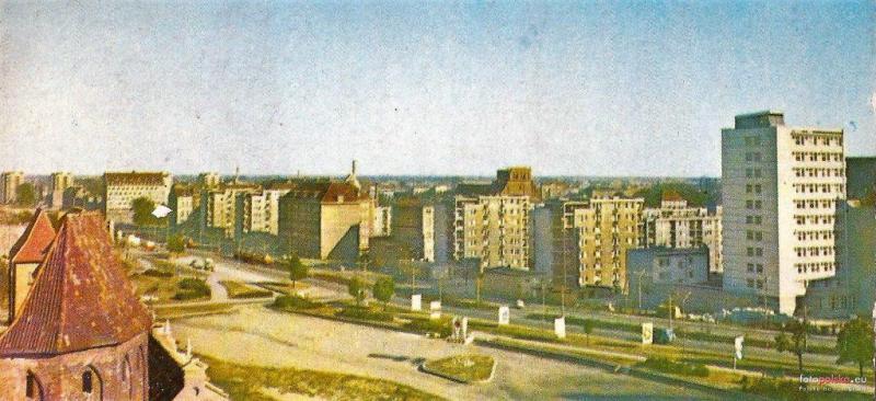 Aleja Leningradzka, rok 1970; źródło: Fotopolska