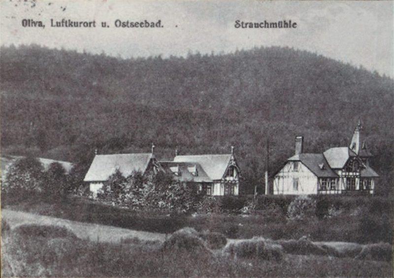 "Oliwa sanatorium ""Strauchműhle"""
