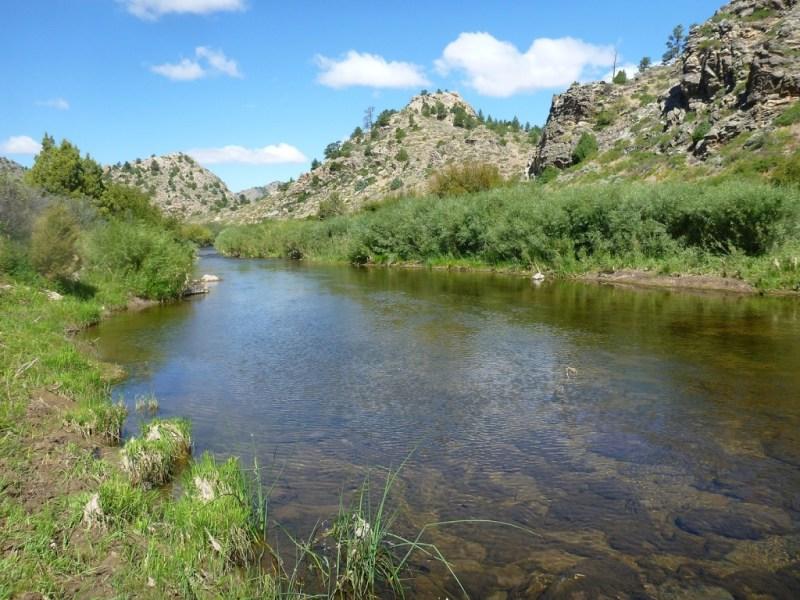 Rzeka Laramie, W tych okolicach Jack polował w roku 1901.