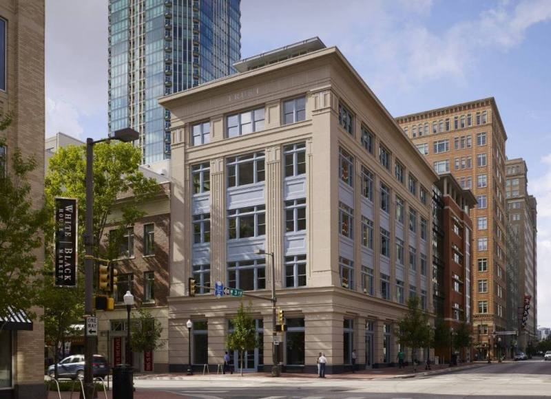 The Cassidy & the Trust Building. Fort Worth, Teksas.