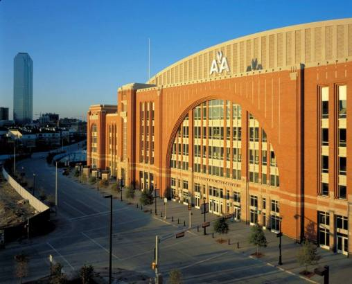 American Airlines Center. Dallas, Teksas.