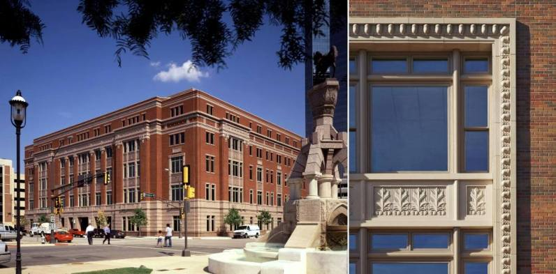 Tarrant County Family Law Center. Fort Worth, Teksas.