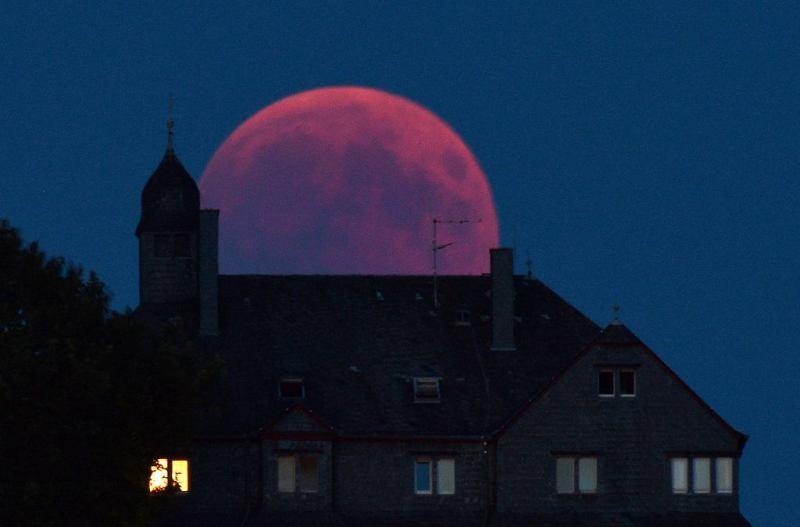 Zaćmienie Księżyca, Harald Tittel, Niemcy 2018