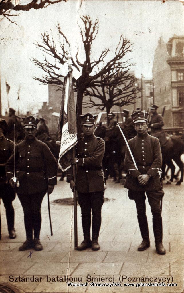 Poznański Batalion Śmierci pod dowództwem podpułkownika Feliksa Józefowicza. Poznańczycy walczyli w wojnie przeciwko Rosji Radzieckiej w 1919-1920 r.
