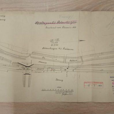 Mapa przystanku Zaroślak 1909