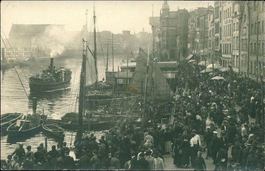 Rybackie Pobrzeże na przełomie XIX i XX wieku
