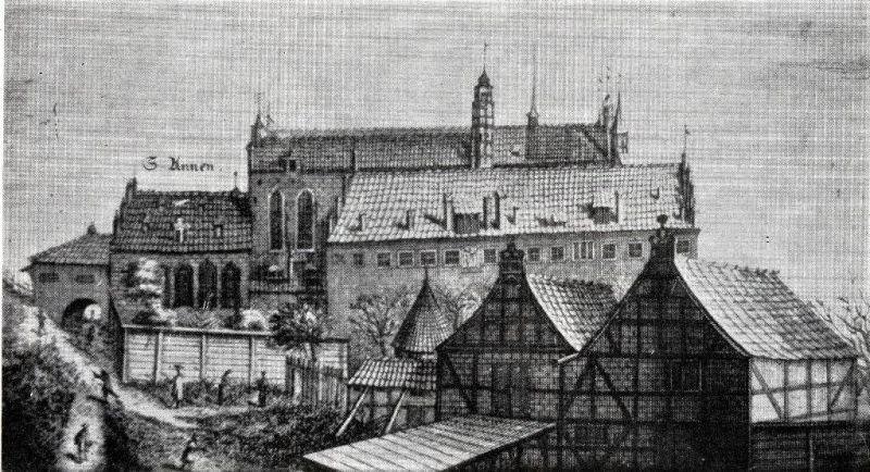 Gdańskie Gimnazjum Akademickie w XVII wieku; e zbiorów PAN Biblioteki Gdańskiej