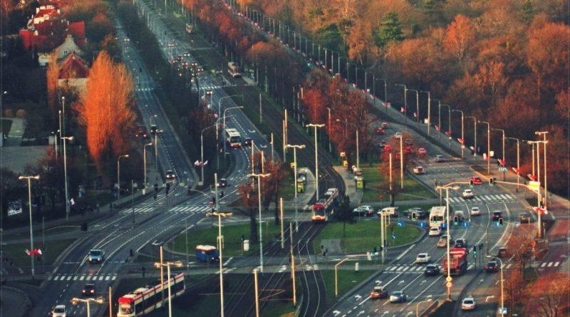 Rondo Ofiar Katynia, zamknięcie Alei Zwycięstwa