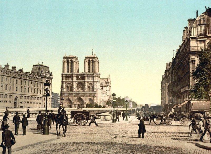 Katedra Notre Dame 1890-1900