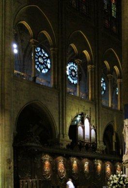 Katedra Notre Dame - małe organy