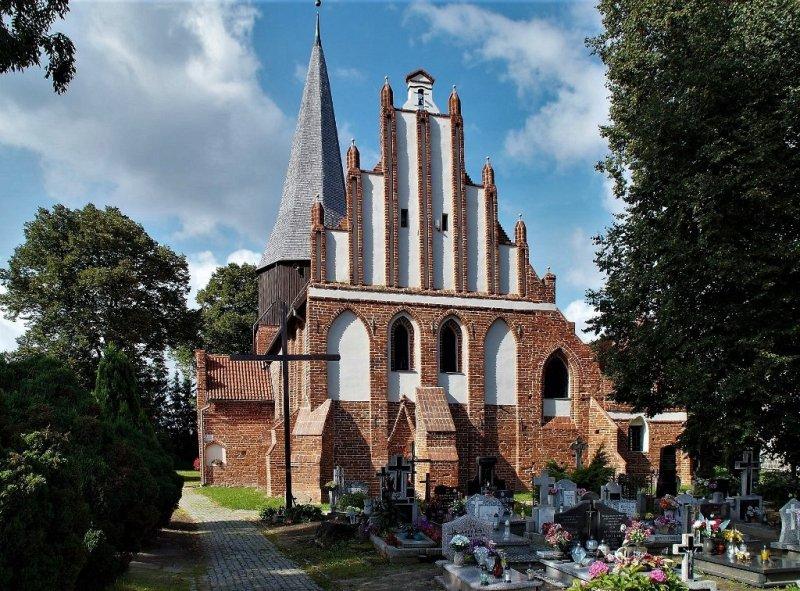 kościół w Mątowach Wielkich