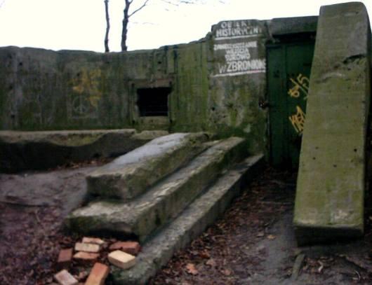 Westerplatte, placówka Fort