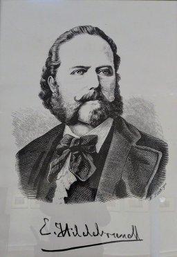 "Eduard Hildebrandt, reprodukcja z publikacji. E. Kossaka ""Reise um die Erde"" - Berlin Otto Jantke"