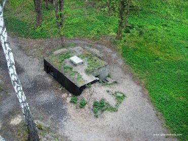 Westerplatte schron załogi wieży obserwacyjnej