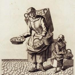 gdańscy wywoływacze - handlarka grzybami